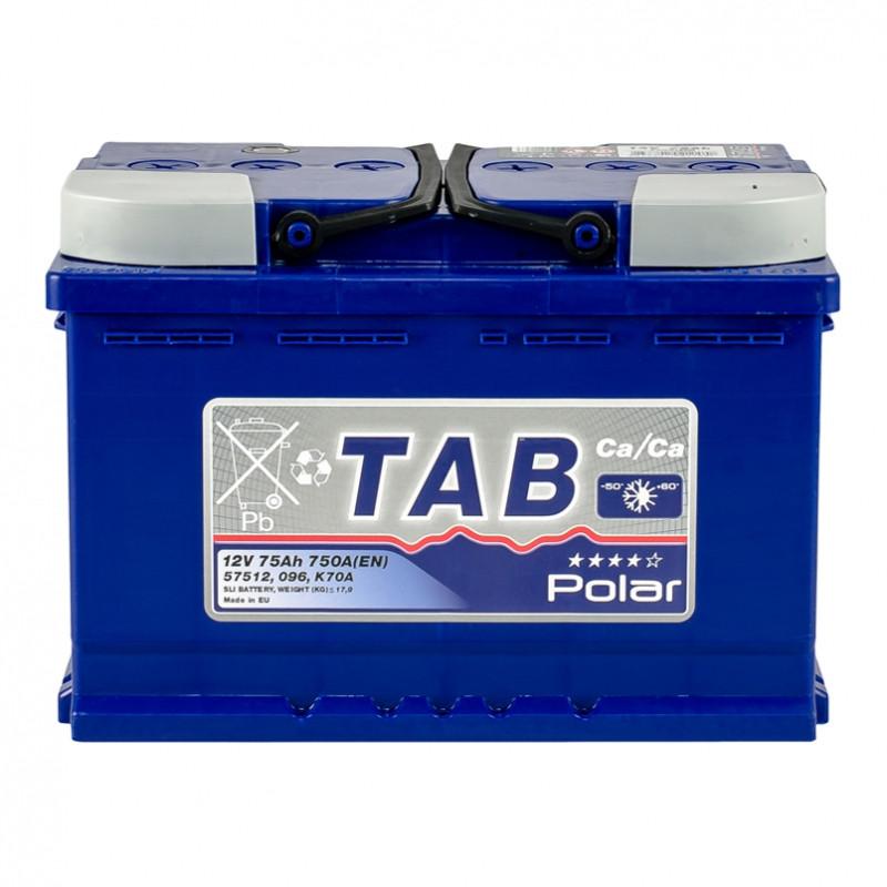 TAB Polar Blue 75 Ah/12V  (правый +) Euro
