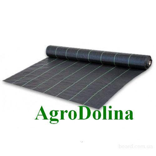 Агроткань против сорняков PP, черная UV, 100 гр/м² размер 3,2 х 100м Bradas
