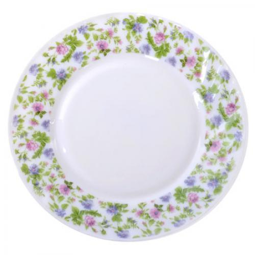Набор круглых обеденных тарелок Stenson Прованс 20.3 см 6 шт (MS-1729-0816)
