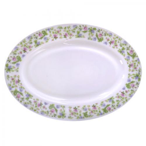 Набор овальных блюд Stenson Прованс 35.5 см 2 шт (MS-1721-0816)