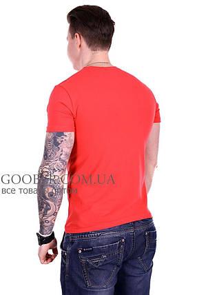 Мужская однотонная футболка 44/5 Mastif M, фото 2
