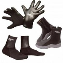 Боты, носки, перчатки для дайвинга