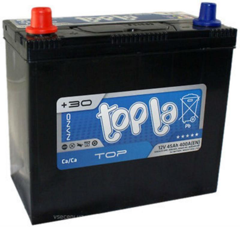 Topla Top/ Energy Japan 45Ah/12V (левый +) 54579