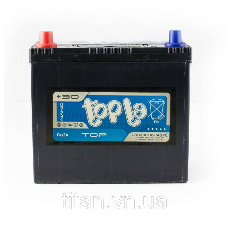 Topla Top/Energy Japan  60Ah/12V (левый +) 56069