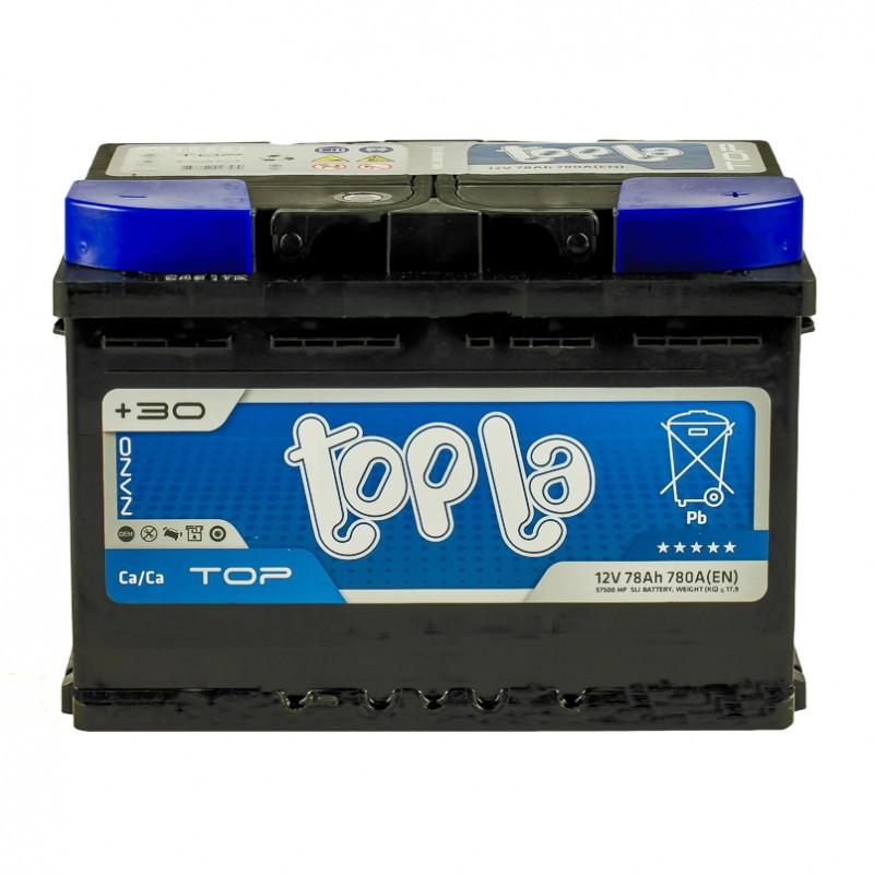 Topla TOP Euro 78 Ah/12V  (правый +)
