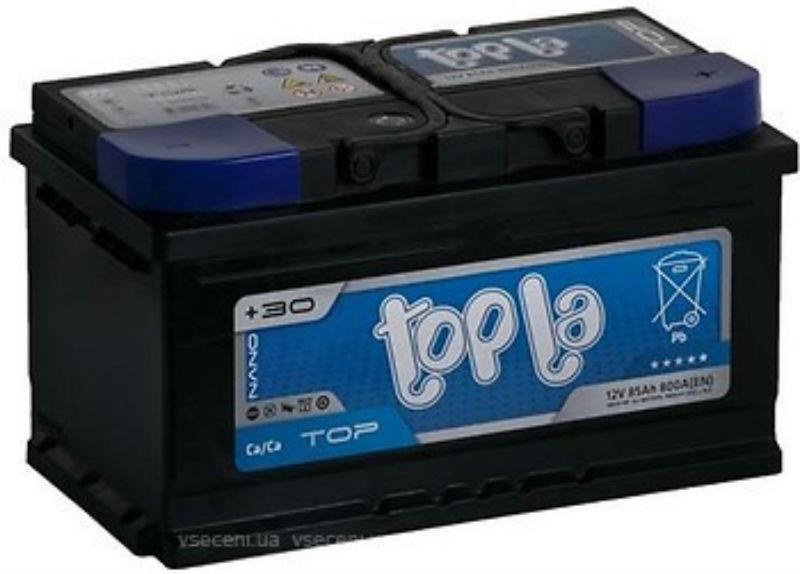 Topla TOP Euro 85 Ah/12V  (правый +)