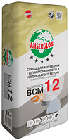 Клей для газобетона Anserglob BCM-12, 25кг