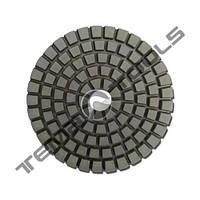 Алмазний гнучкий шліфувальний круг (диск) 100 мм Р50 черепашка