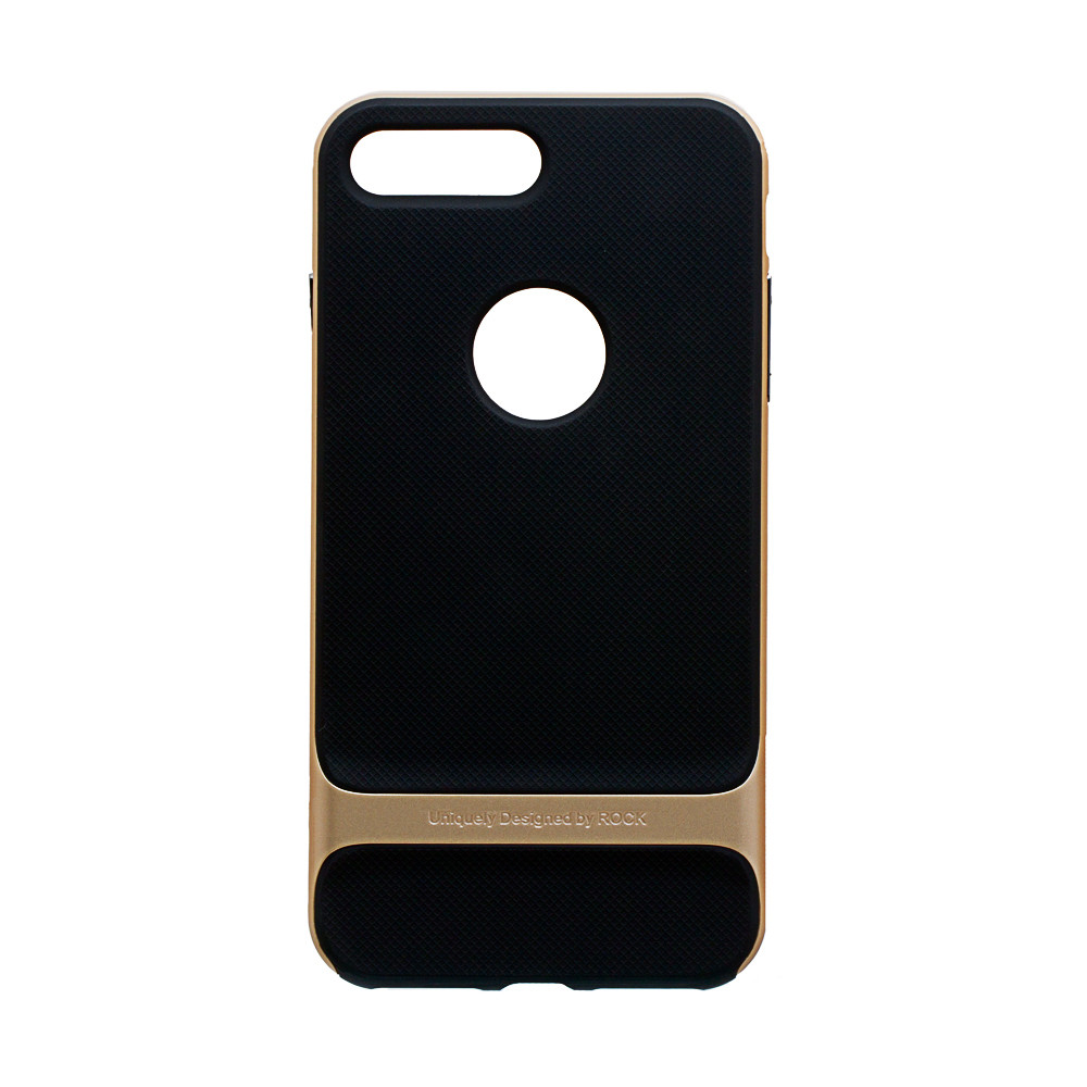 Панель ZBS Rock Royce Original для Apple Iphone 8 Plus Black Gold (20244)