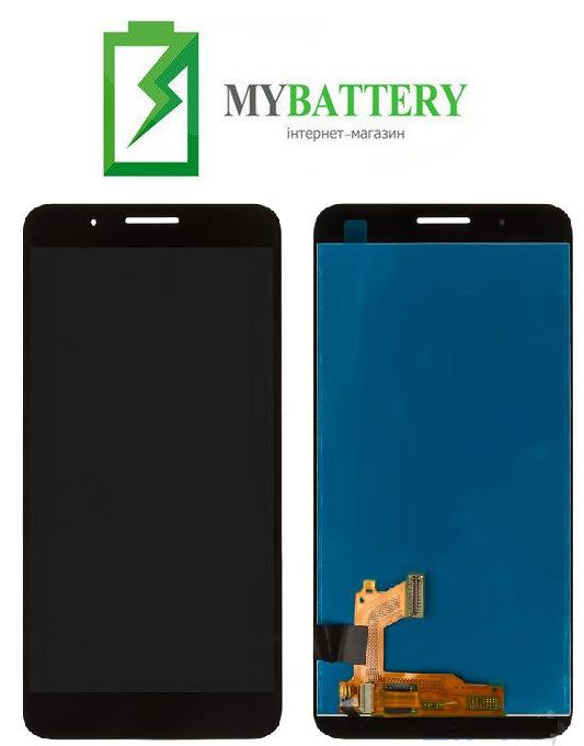Дисплей (LCD) Huawei Honor 7i/ Shot X с сенсором черный