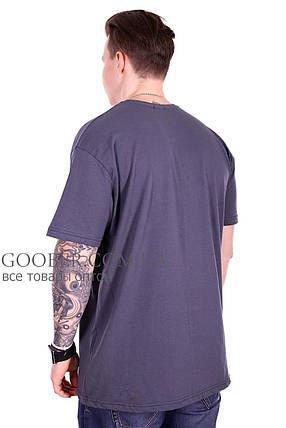 Турецкая мужская футболка большого размера (f211/3) XXL, фото 2