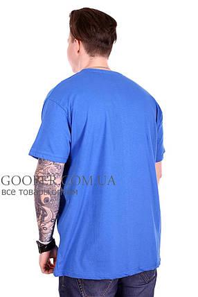 Турецкая мужская футболка большого размера (f212/4) 5XL, фото 2