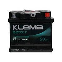 Klema (WESTA) 50 Ah (правый +)