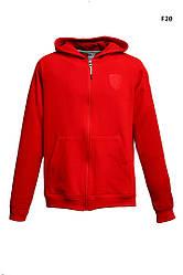 Толстовка мужская Пума x Ferrari красная (реплика) Puma x Ferrari Sports Hoody Red
