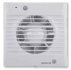 DECOR-100 CD 'Z'*230V 50*  Бытовой осевой вентилятор