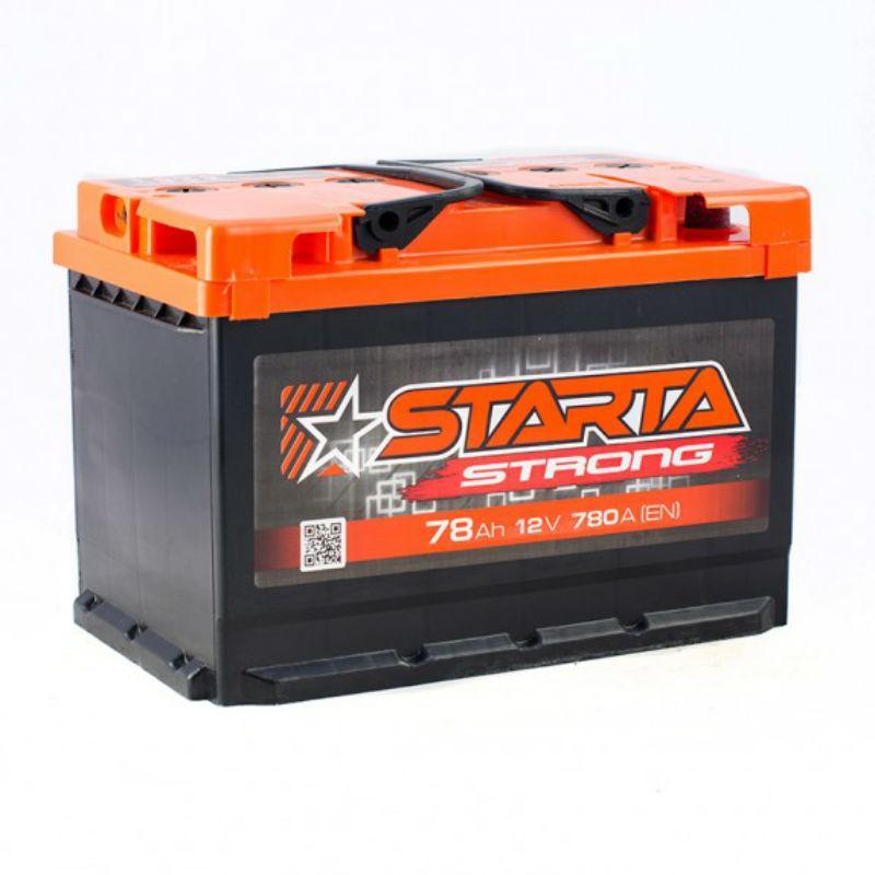 STARTA Strong 78 Аh/12V (правый +)
