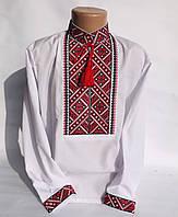 """Детская вышиванка для мальчика, вышитая рубашка на мальчика """"Евгений"""", 98-152."""