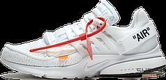 Мужские кроссовки Nike Air Presto x Off-White White AA3830-100, Найк Аир Престо