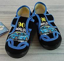 Обувь для мальчиков Текстиль Миша Машина Черный Waldi Украина 25