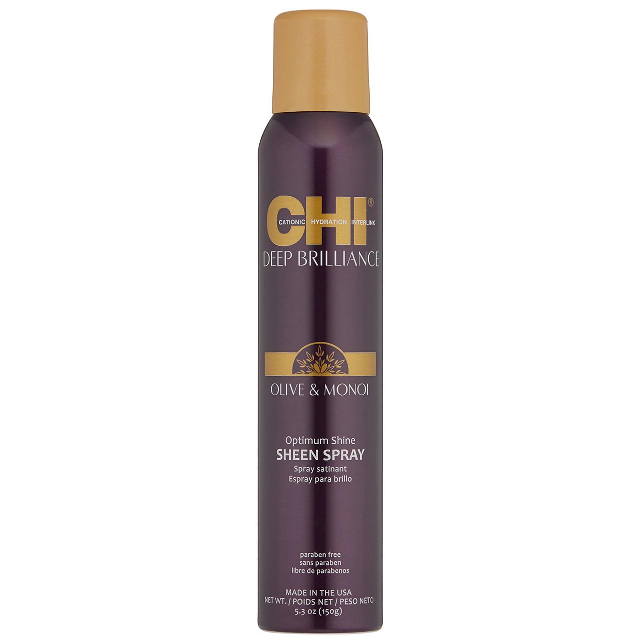 Спрей-блеск для волос CHI Deep Brilliance Optimum Shine Sheen Spray