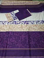 Двухспальный комплект постельного с евро простыней ( Д-227)