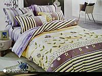 Двухспальный комплект постельного с евро простыней ( Д-229)