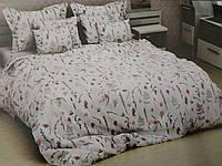 Двухспальный комплект постельного с евро простыней ( Д-230)