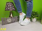 Кроссовки аирмакс белые, фото 3