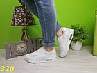 Кроссовки аирмакс белые, фото 2
