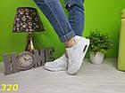 Кроссовки аирмакс белые, фото 5