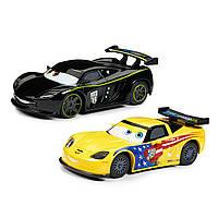 Набор инерционных машинок Джеф Горвет(Gorvette) и Льюис Хэмилтон(Hamilton) Тачки 3/Cars 3 6102036512621P