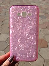 Чехол Samsung J7/Neo Pink Broken Glass