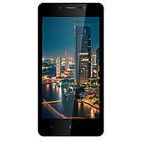 """Смартфон со сканером отпечатков пальцев и двойной камерой 5"""" 2/16Gb Bravis A512 Harmony Pro черный, фото 1"""