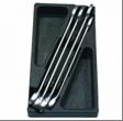 Ключи  рожково-накидные, набор (27-32 мм) 4 шт. в ложементе AmPro