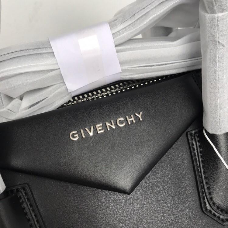 38488d3c5918 ... фото Сумка Живанши Givenchy Antigona 32 см натуральная кожа, цвет черный,  фурнитура серебро, ...