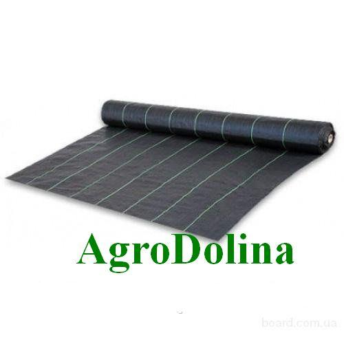Агроткань против сорняков PP, черная UV, 70 гр/м² размер 3,2*100м Bradas
