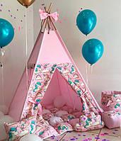 "Детская палатка - вигвам Mini Я ""Маршмеллоу"""