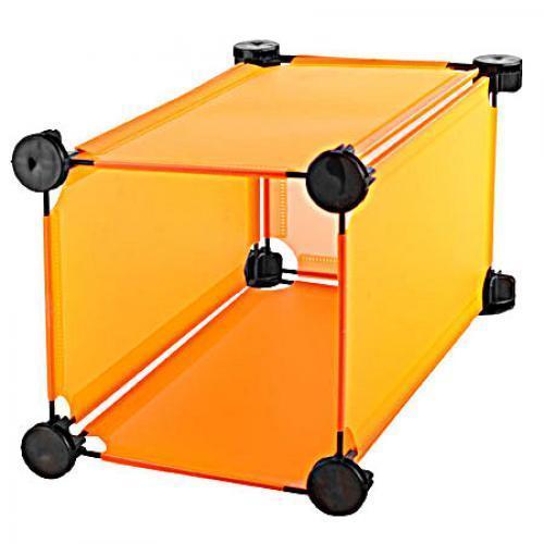 Полка для обуви Stenson 18.5 х 35.5 см Orange (E04736)