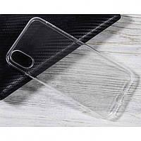 Чехол для Huawei P Smart Plus силиконовый бампер прозрачный