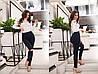 """Стильные джинсовые леггинсы """"CALIOPE"""" с разрезами на коленях (8 цветов), фото 3"""