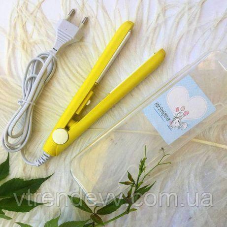 Утюжок для выпрямления волос Progemei GM-2990 желтый