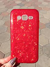 Чехол Samsung J5 J500 2015 Red Broken Glass