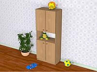 Шкаф детский Д-1 (600*320*1491h)