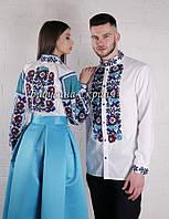 Парні вишиванки.Сорочка жіноча + сорочка чоловіча МВ-147п