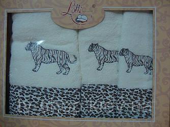 Набор полотенец Тигр Lotti 3шт.