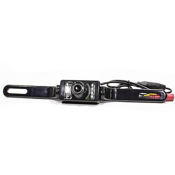 ➀Камера заднего вида Lesko E322 напряжение 12V влагозащищенная IP68 угол обзора 170 градусов автомобильная