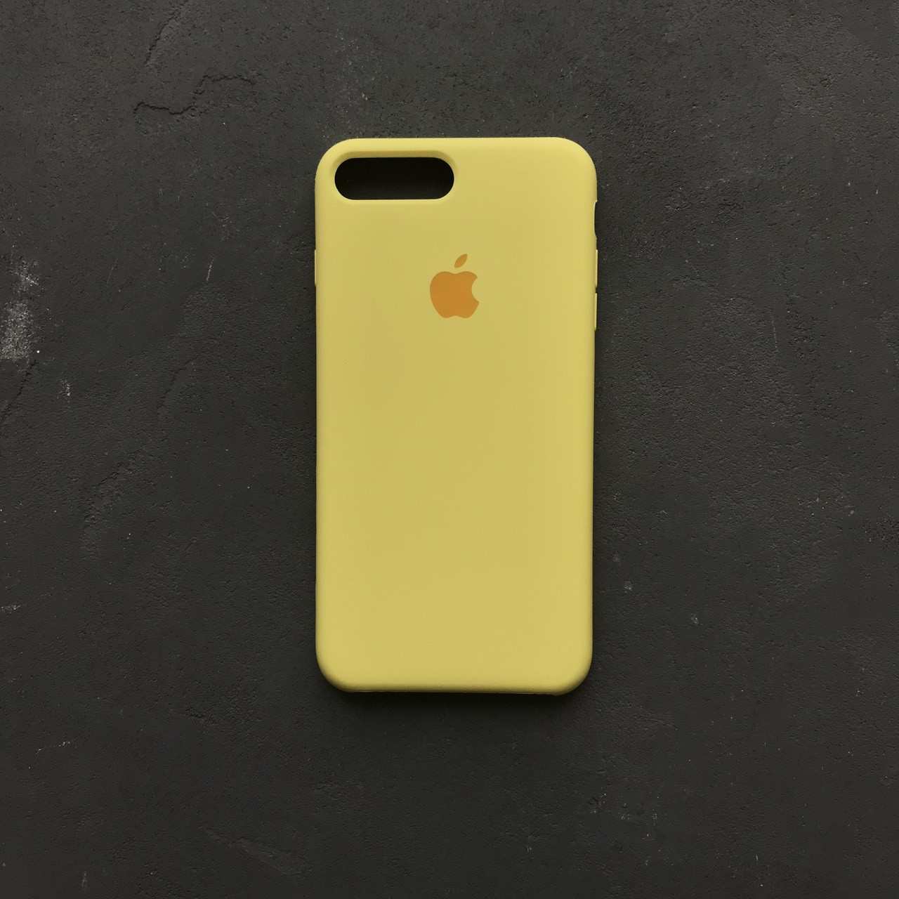uk availability 1b93e 144a6 Силиконовый чехол на айфон 7 plus желтый Silicone Case iPhone 7+ lemonade -  Bigl.ua