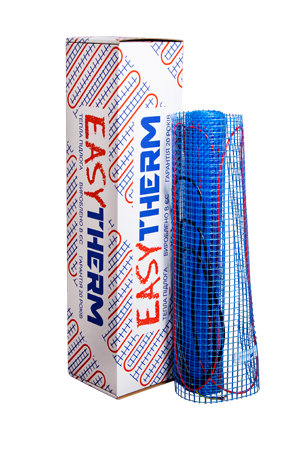 Нагревательный мат серии ЕМ Easymate 10м.кв 2000Вт