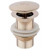 Донный клапан Q-tap Liberty ORO L03 (золото)