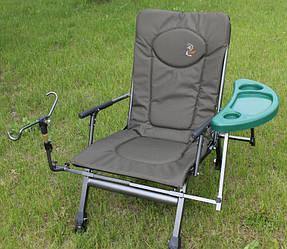 Рыболовное кресло со столиком Elektrostatyk F5R ST/P (Польша)